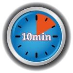 10 minutes………